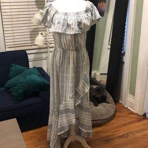 Express off the shoulder dress NWT